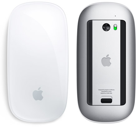 laser tracking Magic Mouse Apple